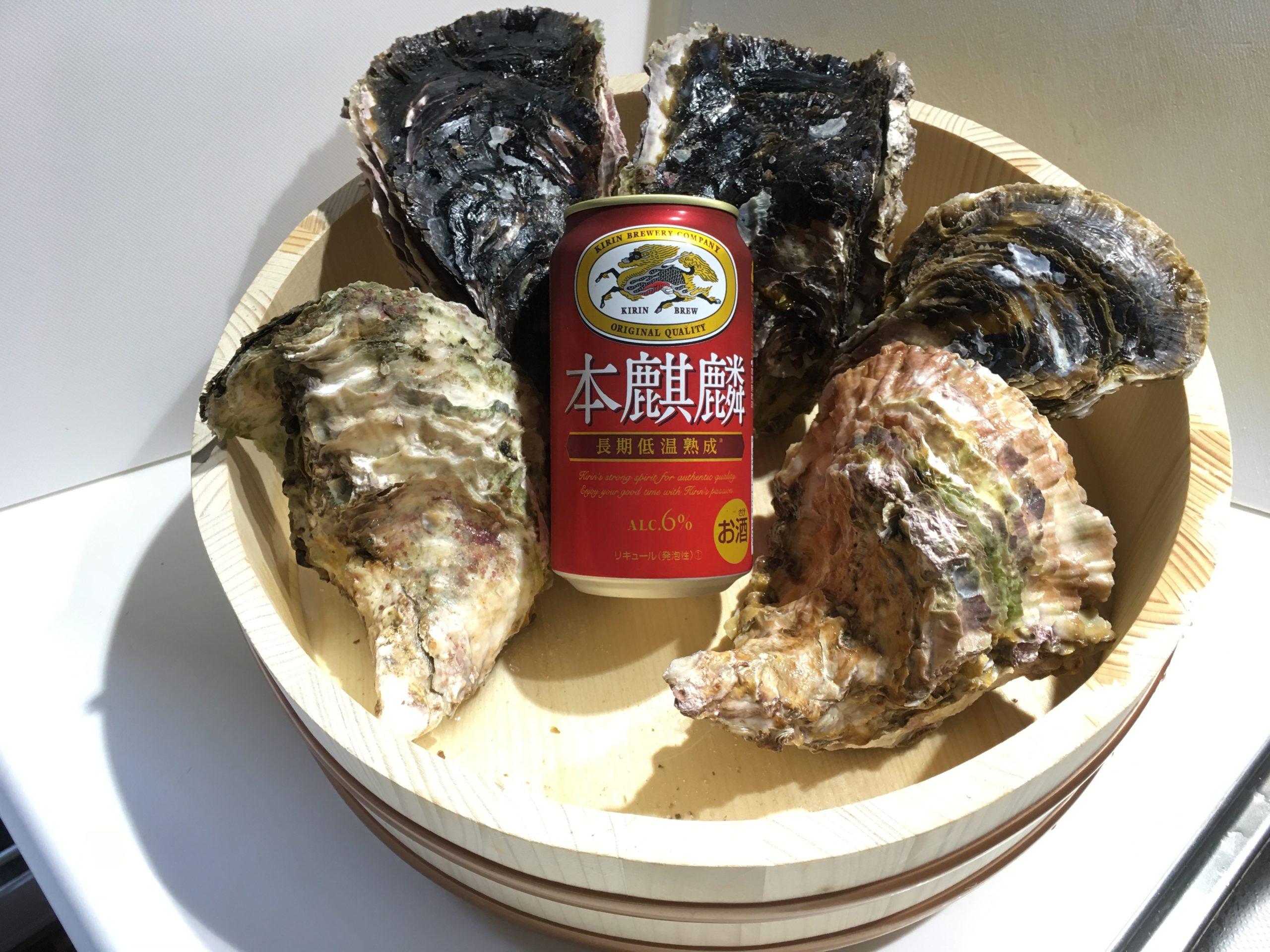 夏が旬の岩牡蠣